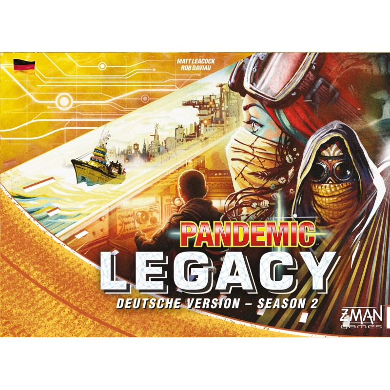 Pandemic Legacy  Season 2 GELB